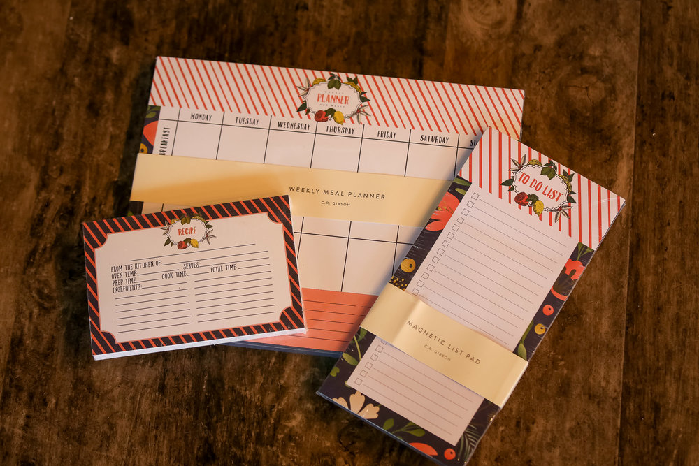 A gift package containing recipe cards, a meal planner and to-do list notes from  Amavo Boutique  is the perfect thing for your gift exchange.