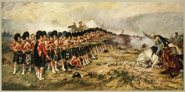 The Thin Red Line by Robert Gibb, 1881