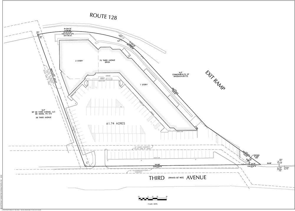 75 3rd Ave Site plan. Click to enlarge.