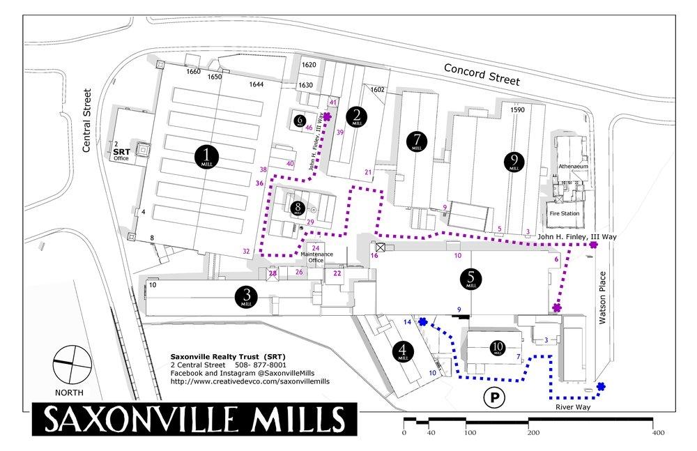 Saxonville Mills Site Plan