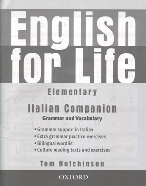 English for Life Elementary Italian Companion Grammar and Vocabular