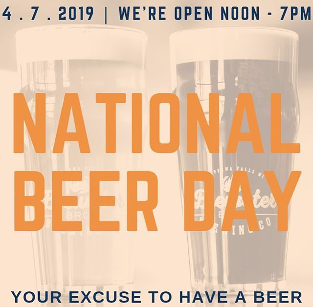 #nationalbeerday #drinklocal #yourexcusetohaveabeer #cheerstosunday