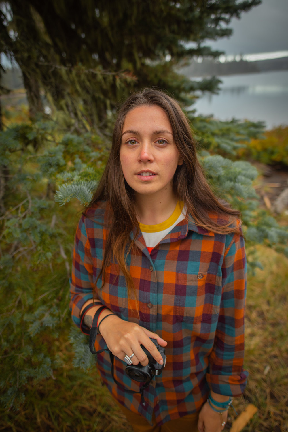 Women's Free Swinging Flannel in Cider Buff Check