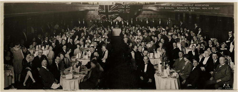 BCHA 4th Annual Banquet, 1927