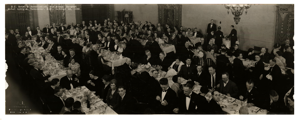 BCHA 8th   Annual Banquet, 1934