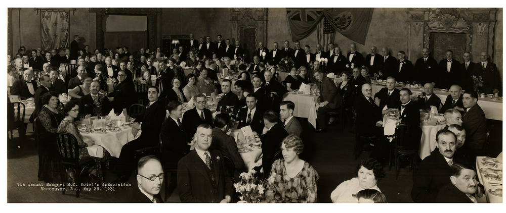 BCHA 7th Annual Banquet, 1931