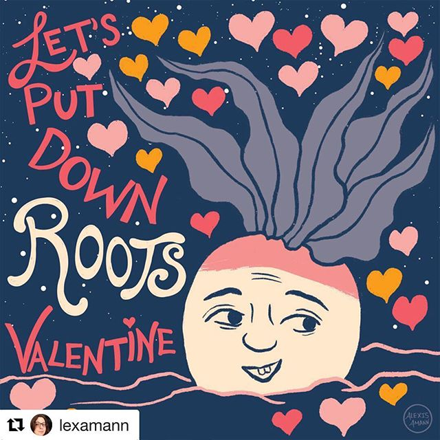 Turnip is back for more love! Get @lexamann 's sweet valentine, along with 6 others, when you subscribe to our newsletter! . . . #Repost @lexamann with @get_repost ・・・ Turnip is all about Valentine's Day! You can get this valentine, along with a whole sheet of print and clip valentines in this palette from our collective @crushillustration by subscribing to our newsletter this month! Just head over to @crushillustration and click bio for details! I've been working behind the scenes on thumbnailing Turnip's story and hope to be wrapping that part up very soon. I've been sharing them over on my Patreon and some snippets in my Stories as well. Stay tuned for more Turnip soon! #valentinesday #valentine #papercraft #turnip #turnipchronicles #hearts #valentinecards #artdiscover #illustration #illustrationgram #characterdesign #art #illustration_best #illustratorsofig #womenwhodraw #illustrationhowl #surfacedesign #illustrationartist #womenofillustration #makersgonnamake #alexismann