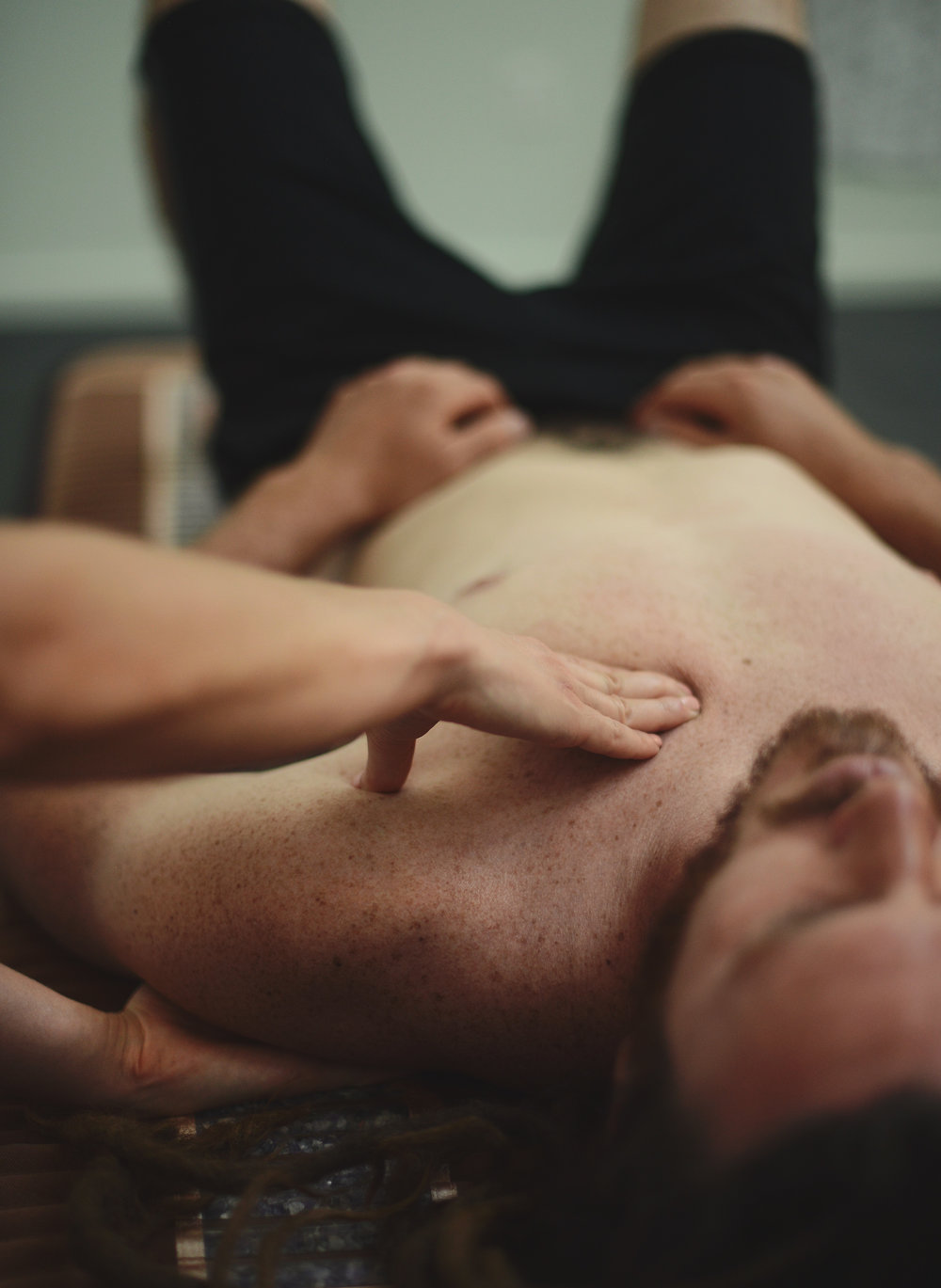 Opt for some relaxing neck and shoulder work too to ease you into a peaceful & present state. -