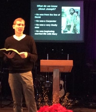 Senior Pastor Gary Georgeson  -Giving a bible-based message that is easy to apply to your life
