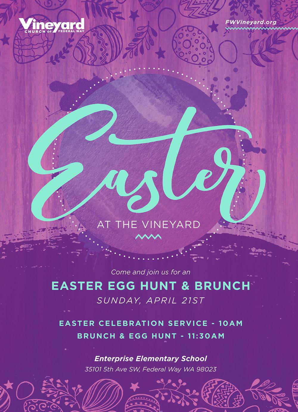 Easter Flyer 2019 -