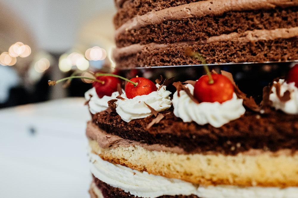 Naked Cake Hochzeitstorte maechen mit IDEEN Passau