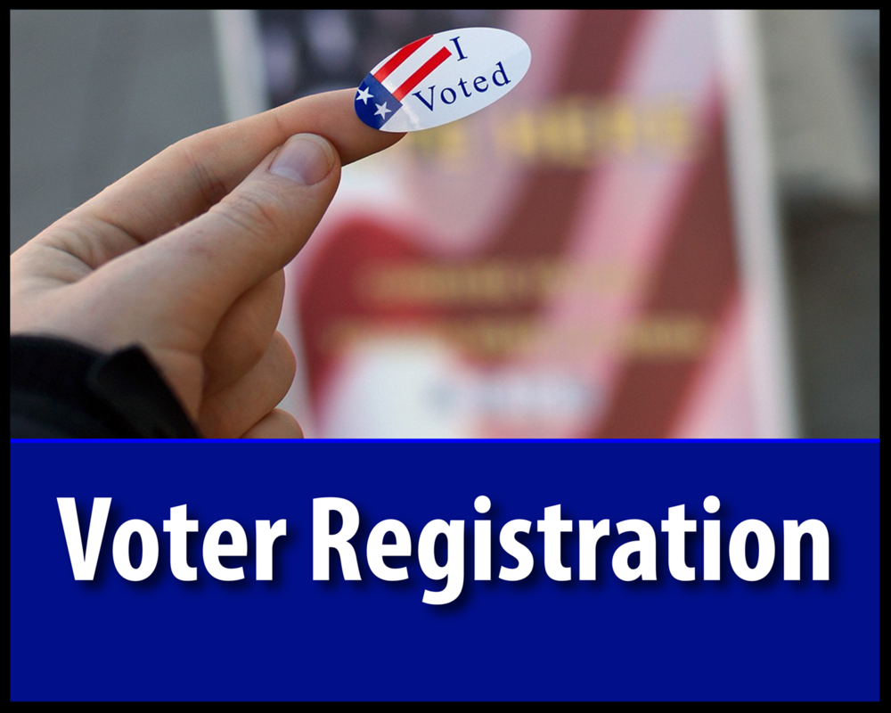 Register online through the Dept. of Elections -