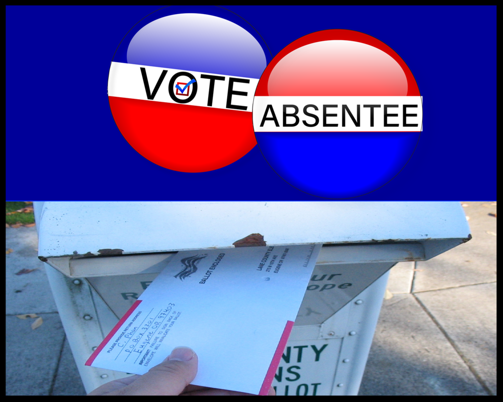 All the information you need to vote absentee.
