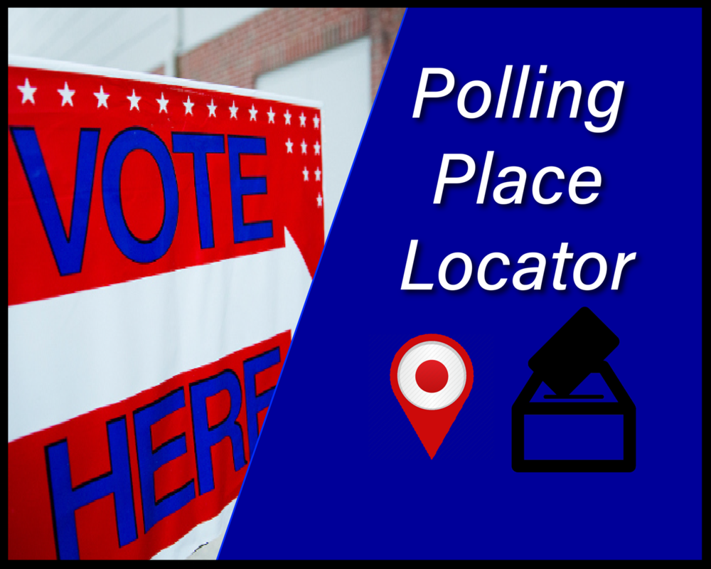 Look up where you will make your voice heard on election day.