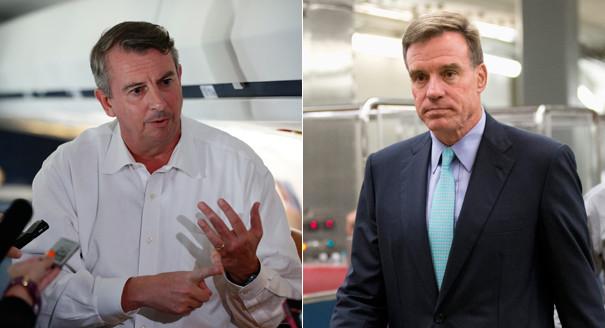 2014 Senate Candidate: Ed Gillespie (Left), Mark Warner (Right)