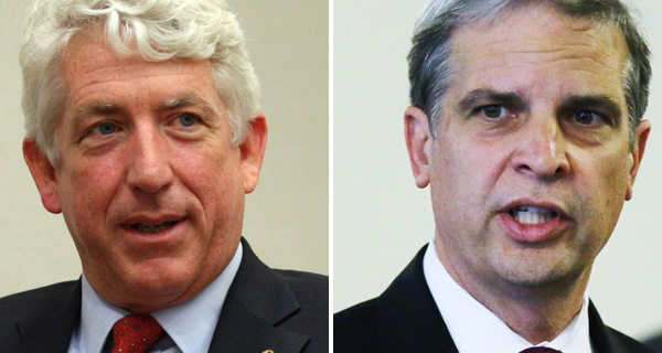2013 AG Candidates: Mark Herring (Left) Mark Obenshain (Right)   Difference in Votes:  906
