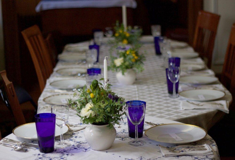 Philosophie Floral Passover Centerpieces