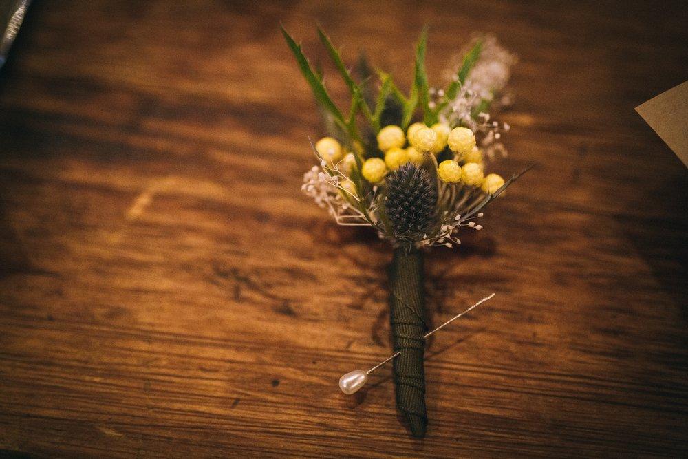 Philosophie Floral Dried Boutonniere