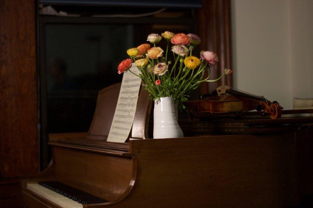 Philosophie Floral Ranunculus Piano