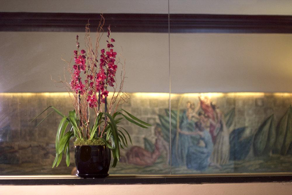 Philosophie Floral Lobby Orchid Arrangement