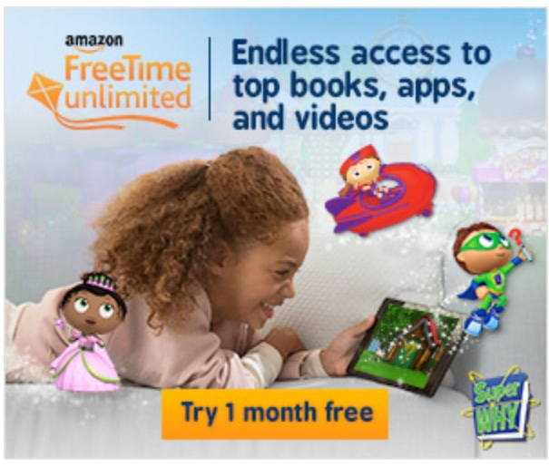 Amazon Freetime Unlimited (Wardrobe)
