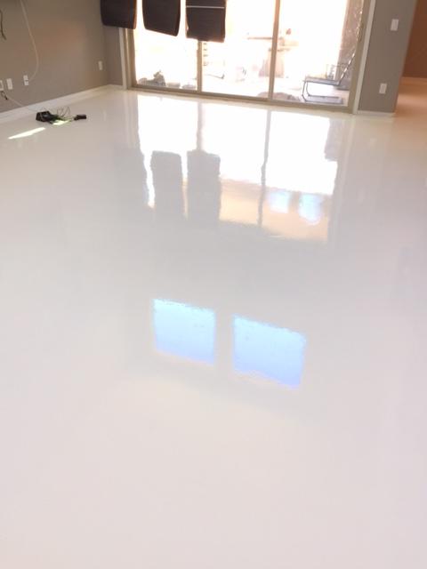 solid white epoxy