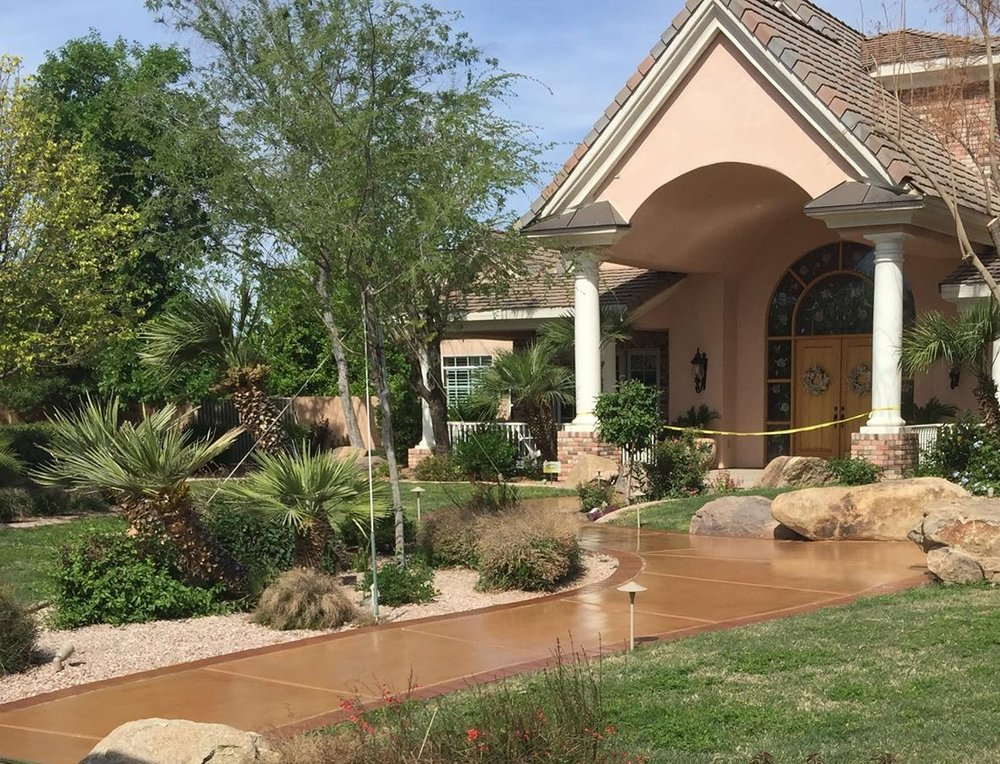 add tremendous curb appeal with a simple and cost effective stain