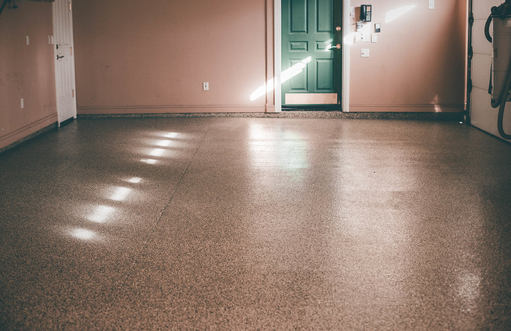 go from bland to grand with a garage floor coating