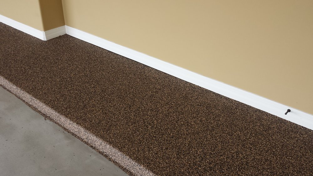 transform your garage into a livable space with a simple garage floor coating