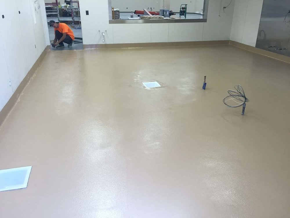 SOLID COLOR TAN EPOXY WITH TEXTURE