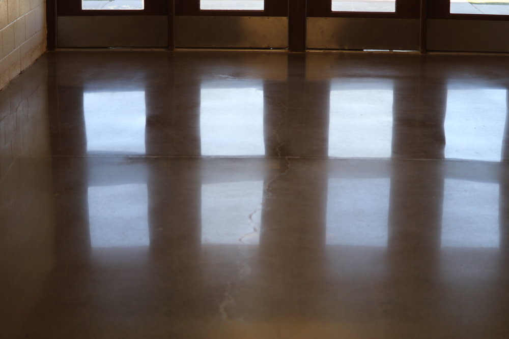 POLISHED CONCRETE IS COST-EFFECTIVE, ENVIRONMENTALLY-FRIENDLY AND BEAUTIFUL