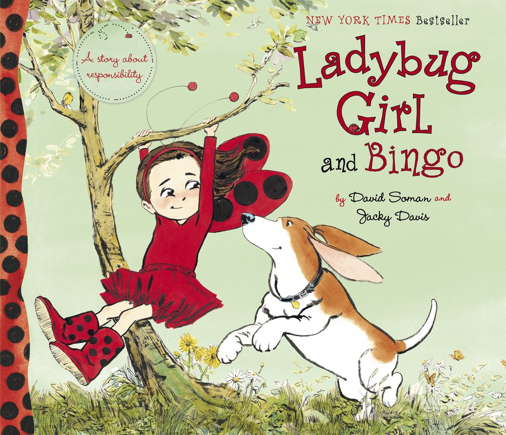 The LADYBUG GIRL series - This New York Times bestselling series showcases the themes of imagination, empowerment, friendship, compromise, and courage – not to mention a love of the outdoors. Ladybug Girl and her loyal sidekick Bingo can do anything!READ MORE