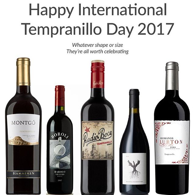 Some say it's today, some say it's tomorrow. We say everyday should be #internationaltempranilloday! Whenever you decide to celebrate, enjoy your delicious glass of #Spanishwine!  #winetime #tempranillo #winery #wineday #ilovewine #redwine #spain #portugal #argentina #sfbayarea #instawine #wineschool #winelover