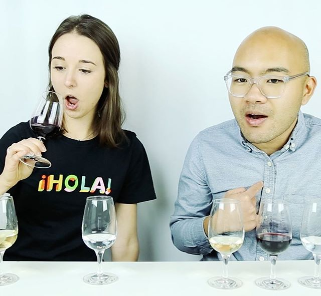 The face you make when you're told you can drink your #holidaydinner like the polarizing cranberry sauce, the mashed potatoes, and the delicious apple pie. Find out how to drink your dinner while waiting for the next holiday #feast on our new #joshlikeswine video on the #blog.  #thanksgiving #christmas #food #cranberry #liqueur #wine #whitewine #vodka @chopinvodka #facebooklive #linkinbio #loirevalley