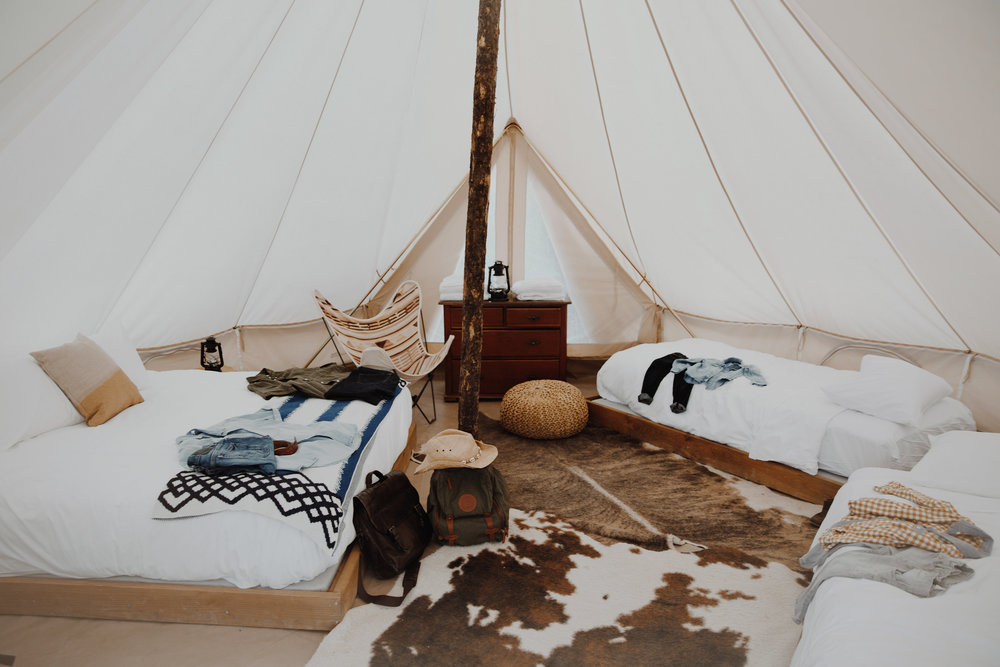 Glamping - What happens when an avid indoorsman (willingly) goes outside?by Rob Zimmerman