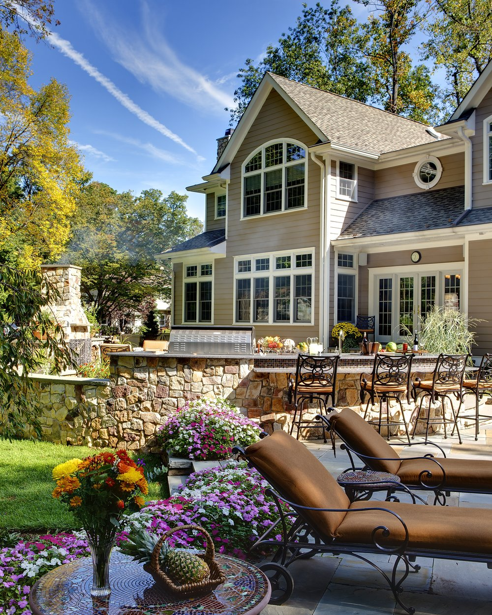 Landscape Design , Patio Design, Outdoor Kitchens, Bergen County, NJ