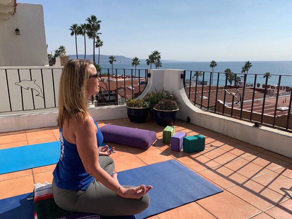 Los Gaviotas, Baja, Meditation