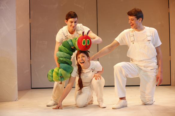 The Very Hungry Caterpillar Show, playing at the DR2 Theatre in September