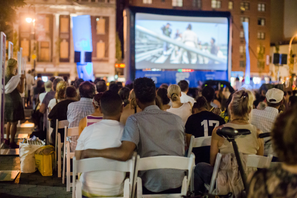 Movie nights on August 3rd + 10th at  Citi Summer in the Square