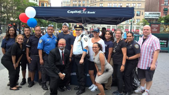 Transit District 4 at National Night Out in Union Square Park, 2016