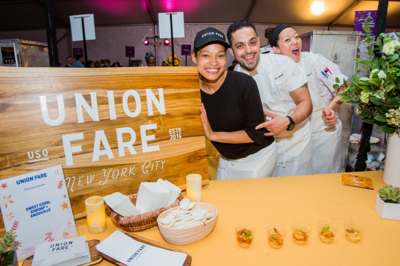 Chef Yvan Bloom of Union Fare at the 21st Annual Harvest in the Square