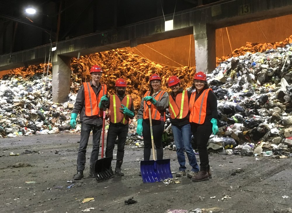 Graduate researchers from Columbia University studied waste from Union Square, answering the question of what is in Union Square's waste stream