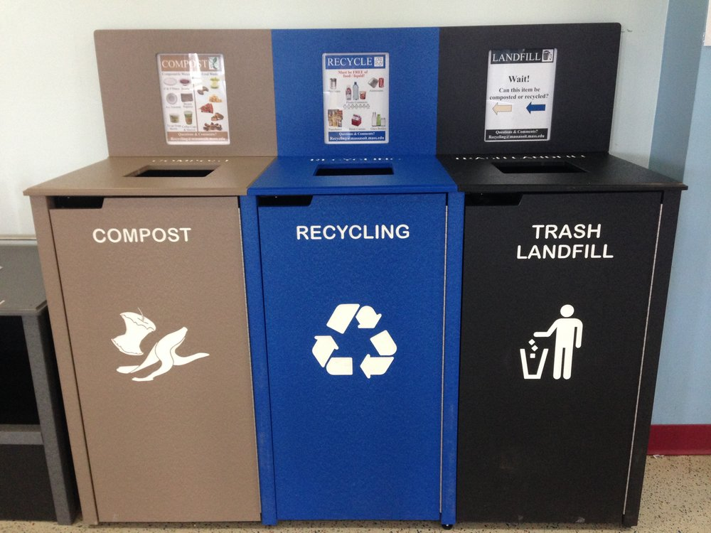 Businesses can offer user-friendly waste sorting stations to separate recycling, organic waste, and non-divertable trash. Many Union Square restaurants and eateries such as  Think Coffee  and  Cava  already offer in-store collection for food waste and commercially compostable packaging such as paper-based bowls and compostable cups
