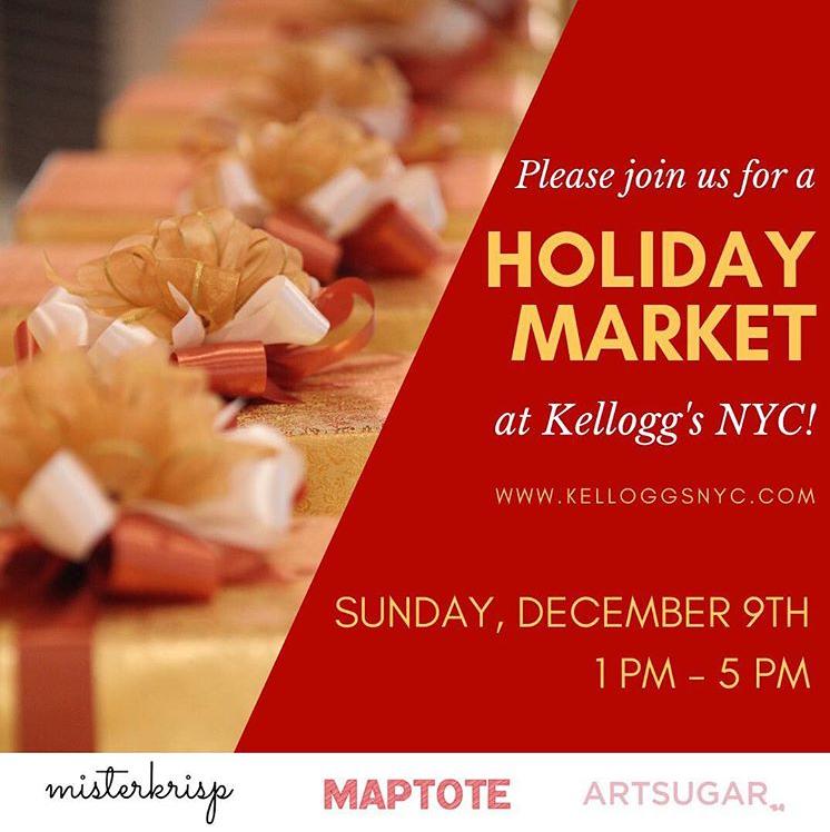 Kellogg's NYC Holiday Market — Union Square Partnership