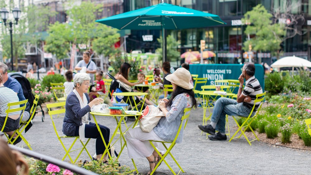 West Side Seating Area photo by Liz Ligon