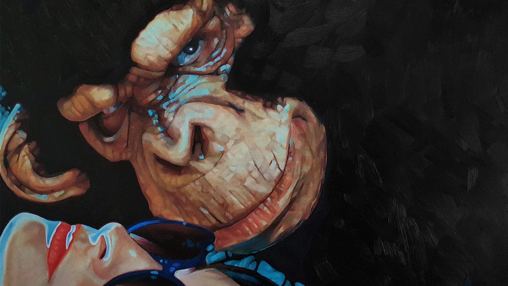Obra de Abraham Jimenez para EJERCICIO NO.2 ACCIÓN, FICCIÓN Y PINTURA