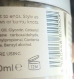 Notice the little jar icon?  That shows that this product expires 12 months from opening.