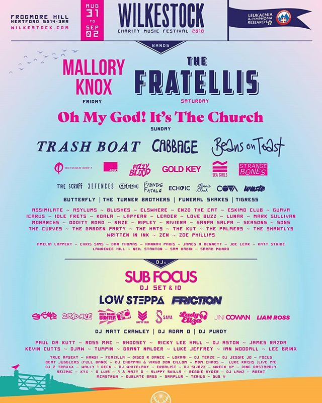 Win 4 day tickets to Wilkestock Festival (@wilkestock ) near Stevenage on the 2nd September! To enter just Tag 3 mates in a comment below and share the post! Simples!  Over 18's only, 48hrs to enter, go go go! Ticket link here - http://bit.ly/Wilkestock18 #Wilkestock18
