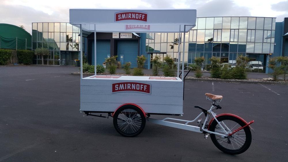Smirnoff Vendor Bike