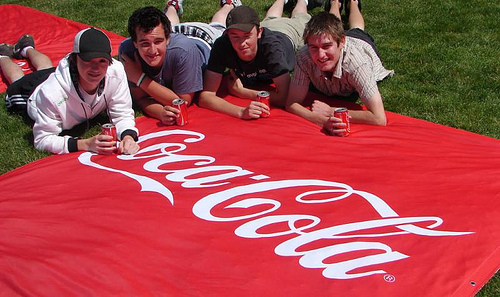 Coke Summer Outdoor Campaign